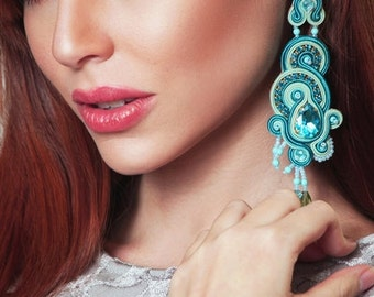 Earrings Soutache Carlota S1