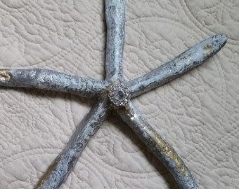 STARFISH Stressed gold/silver/blue