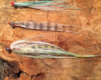 Fly fishing- Variety (3) pack salt water Clouser minnows