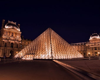 A Night at the Louvre, France