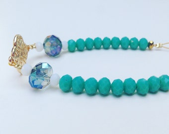 Goldie bracelet turquoise