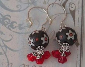 Various Earrings, Designs and Materials