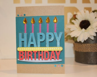 Handmade Happy Birthday Card