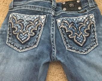 Boot Cut MissMe Jeans Size: 26