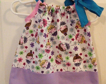 Fairy tunic top fits 2t to 4t