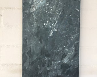 """original abstract acrylic canvas painting 12"""" x 24"""""""
