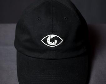eye behind the lens