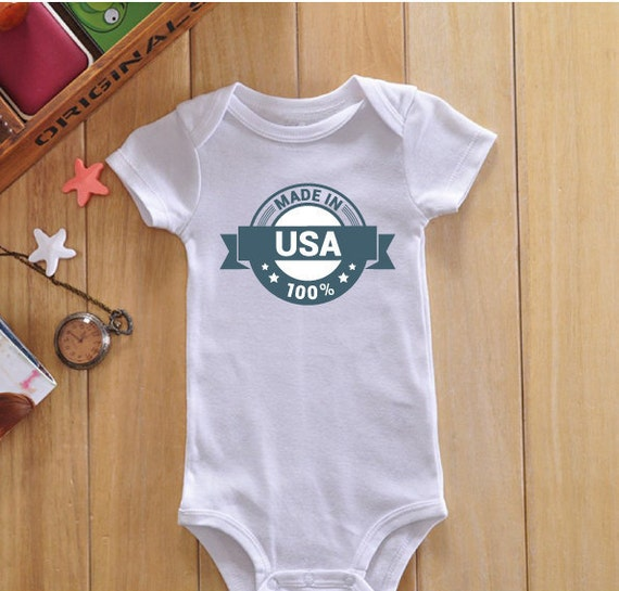 Wrap your little one in custom Made In The Usa baby clothes. Cozy comfort at Zazzle! Personalized baby clothes for your bundle of joy. Choose from huge ranges of designs today!