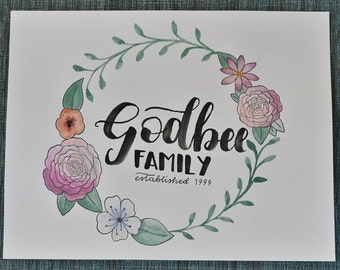 Family Print (Style #2)