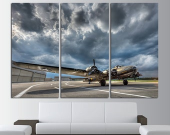 Airplane Wall Art aircraft engine vintage aircraft canvas art vintage airplane
