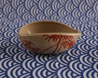 japanese antique small pot