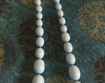Robin Egg beaded necklace