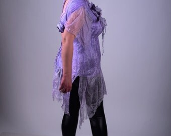 Wool Silk Plus Size Tunic Oversize Top Mini Designer Bohemian Bright Eco Friendly Loose Length Sweatshirt Shirt Dress Knee Bohemian Dress