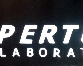 Aperture Science sticker