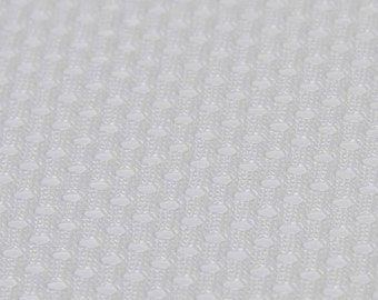 Diaper Lining Mesh (White, sold by the yard)