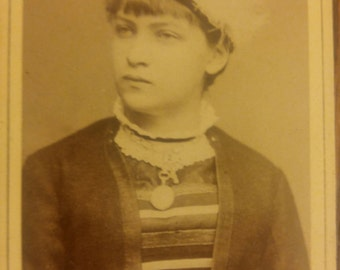 A Great looking young lady Vintage Photo