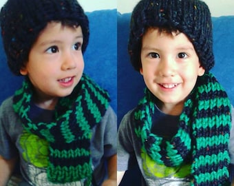Toddler Scarf & Hat Set