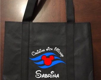 Disney Cruse Line Inspired Tote Bag - Great for Fish Extender Gifts!