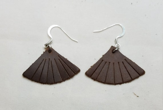 Fine Leather Earrings