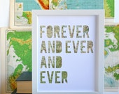 Travel Theme Wedding Gift Idea - Custom Map Artwork - Anniversary Gifts for Men - Custom Couple Gift - Personalized Gift Ideas
