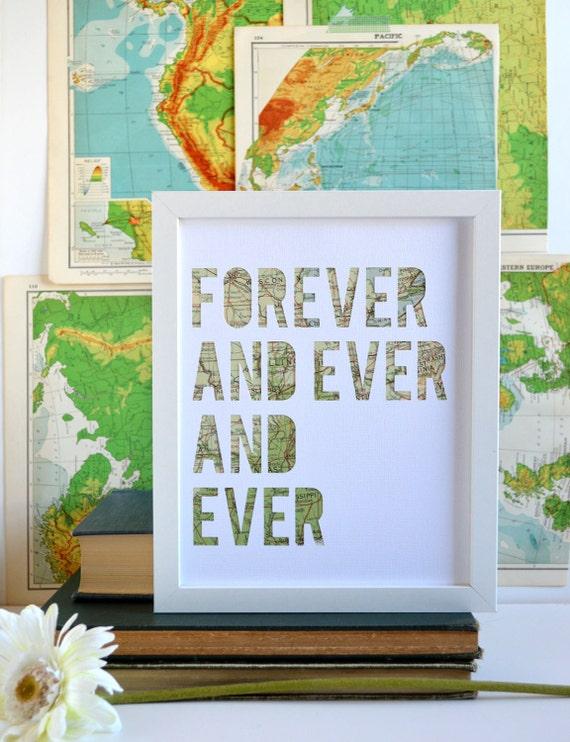 ... Wedding Gift, Travel Theme, Custom Map Artwork. Couple Gift