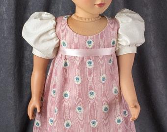 My Twinn Doll Regency Dress, Pantalettes, Hose and Shoes – Free Shipping