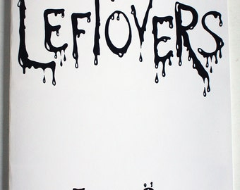 Leftovers, horror comic by Johanna Öst