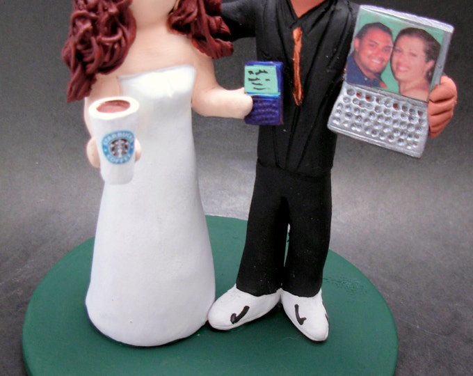Hispanic Groom Marries American Bride Wedding CakeTopper,Wedding Anniversary Gift for Mixed Race Couple, BiRacial Wedding Anniversary Gift.