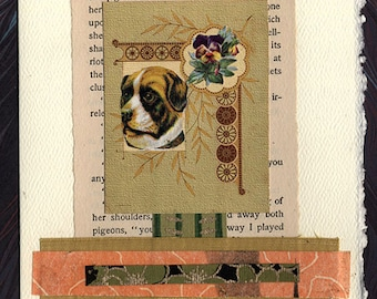Pet Sympathy Card Dog Gift of Peace