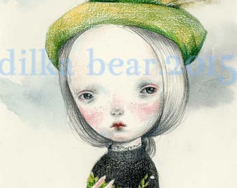 HUNTER limited edition giclee print 4/40