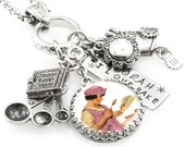 Cooks Necklace - Chef Jewelry - Culinary Jewelry - Personalized Baking Necklace - Bakery Jewelry - Cookbook