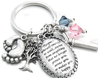 Convert Necklace to Keychain