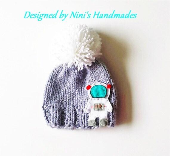 astronaut hat knit - photo #3