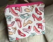 Shoe Crazy  - Zipper Pouch