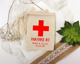 Wedding Favor Bags, Party Favor Bags, Hangover Kit, Bachelor Party Favors, Bachelorette Party Favors, 4 x 6 --64514-MB04-610