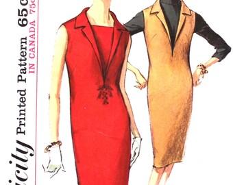 UNCUT  Deep V Dress or Jumper Bust 38 Simplicity 5535