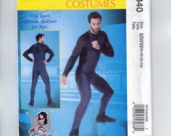 Mens Sewing Pattern McCalls M7340 7340 Mens Yaya Han Ultimate Bodysuit for Men Cosplay Costume Chest 38 40 42 44 46 48 50 52 UNCUT
