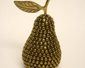 Studded Brass Pear