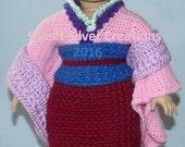 18 inch American Girl Crochet Pattern - Mulaan