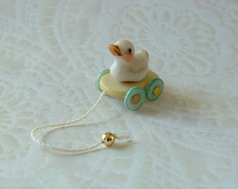 Duck Pull Toy...yellow