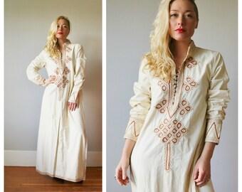 Moroccan Cord Tunic Dress~Size Medium
