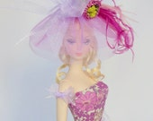 Silkstone Barbie Outfit Fashion Dress Hat Liberty Print - 'Margaret Annie'