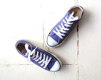Converse All Star / Purple Converse / Converse Sneakers / Made in USA / Size 4.5 / 6.5