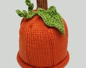 Pumpkin Hat - Baby to Adult