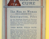 Vintage Medical Booklet - The Radical Cure, Dr. Young's Dilators