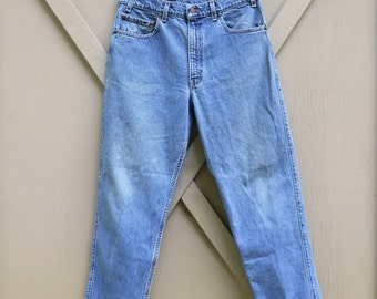 80s/90s vintage Levi's 540 Relaxed Fit Faded Denim Jeans