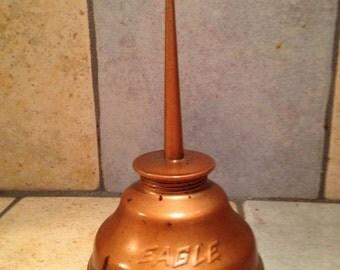 Coppertone Oil Can