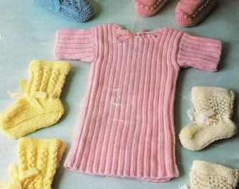 Ribbed baby booties Etsy