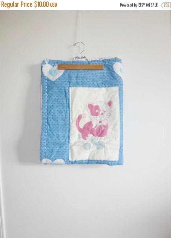 SALE // Vintage Baby Quilt