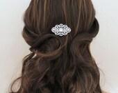 Bridal hair comb, Wedding hair comb, Hair pin, Wedding headpiece, Rose Gold hair comb, Hair clip, Rhinestone hair comb Bridal hair accessory